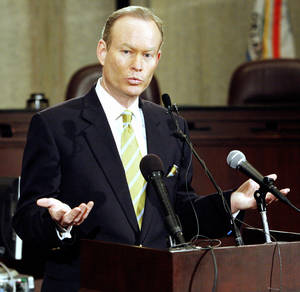 Photo - Oklahoma City Mayor Mick Cornett  THE OKLAHOMAN ARCHIVE