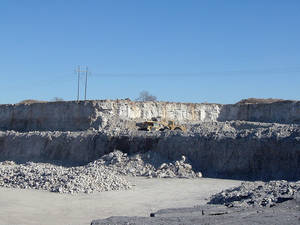 Photo - A gravel mine produces sand, rock and other aggregates for use in concrete for roads, bridges and other projects. County commissioners throughout the state have endorsed an effort to create a severance tax on the production of aggregate in Oklahoma mines. Photo provided by the Oklahoma Aggregates Association. <strong>PROVIDED - Oklahoma Aggregates Association</strong>