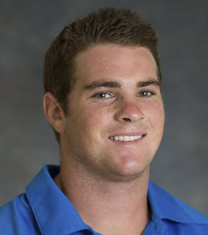 Photo - In this undated image provided by UCLA, freshman football player Nicholas Pasquale poses for a photograph. Pasquale was struck and killed by a car early Sunday, Sept. 8, 2013, in San Clemente, Calif. (AP Photo/UCLA)