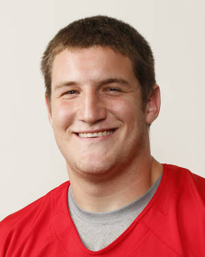 photo - Caleb Holland, Carl Albert football player, poses for a mug shot during The Oklahoman's Fall High School Sports Photo Day in Oklahoma City, Wednesday, Aug. 15, 2012. Photo by Nate Billings, The Oklahoman