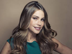 "Photo - Columbian actress Sofia Vergara poses for a portrait, on Wednesday, April 17, 2013 in New York. Vergara is currently on hiatus from ""Modern Family,"" but has several films coming out , including a starring role in the Robert Rodriguez thriller, ""Machete Kills."" (Photo by Victoria Will/Invision/AP)"
