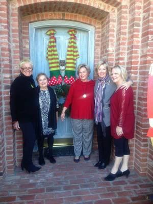 Photo - Judi Freyer, Donna Hughes, Jane Austin, Anne McCurdy, Chris Purcell. PHOTO PROVIDED     <strong></strong>