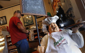 photo - Lovera's Italian Market in Krebs, Oklahoma. <strong>Jim Beckel - THE OKLAHOMAN</strong>