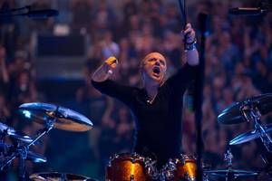 "Photo - Metallica drummer Lars Ulrich appears in a scene from ""Metallica Through the Never."" Picturehouse photo <strong></strong>"