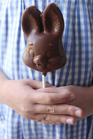 Photo - Make chocolate lollipops with classic molds for Easter. (Juli Leonard/Raleigh News & Observer/MCT)