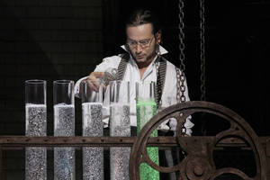 photo - Constantine Maroulis stars as Henry Jekyll in Jekyll &amp; Hyde. Photos by Chris Bennion