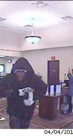 Photo - Man suspected of robbing a bank Thursday morning. Photo provided. <strong></strong>