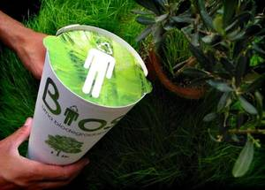 Photo - One company will create a biodegradable urn to hold your ashes and seeds that can grow into a leafy tribute. PHOTO PROVIDED <strong></strong>