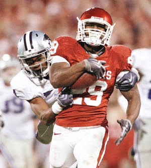 photo - Former OU running back Chris Brown will play in Saturday's Senior Bowl in Mobile, Ala.  PHOTO BY STEVE SISNEY, THE OKLAHOMAN