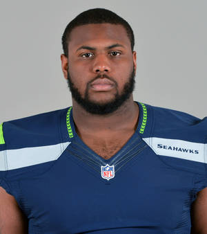 Photo - File-This is 2013 file photo shows Michael Bowie of the Seattle Seahawks. Competition is such a central theme of everything Pete Carroll does with the Seattle Seahawks that he gave a rookie seventh-round pick a chance to start at left guard in the NFC playoffs. Bowie responded to the challenge presented by his head coach. (AP Photo/File)