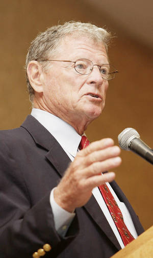 Photo - Sen. Jim Inhofe
