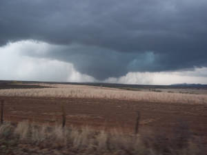 Photo - Snyder Tornado about to drop back down in Wildlife Refuge 11/07/2011 taken by Katelynn Hyden