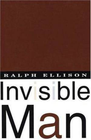 "Photo - Ralph Ellison's 1952 book ""Invisible Man."" <strong></strong>"