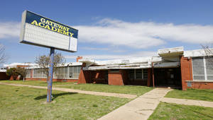 Photo - The Oklahoma City School Board voted to sell the old Gatewood Academy at 721 W Britton, seen Monday. The property will be sold to JAB Consulting for $110,000.  Photo by Paul B. Southerland, The Oklahoman
