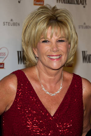 """Photo - This Feb. 8, 2011 photo, Joan Lunden attends Woman's Day magazine's Eight Annual Red Dress Awards in New York.  Lunden, the former """"Good Morning America"""" host says she has breast cancer. She revealed her diagnosis on Tuesday, June 24, 2014 on """"Good Morning America.""""  She spoke with """"GMA"""" hosts Robin Roberts and Amy Robach, both of whom have also been treated for breast cancer recently.(AP Photo/Charles Sykes)"""