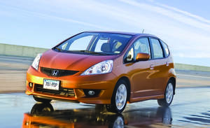 Photo - The Honda Fit remains on top in Consumer Reports' list of best value small cars.