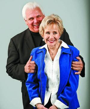 Photo - Jim and Robin Riley. <strong></strong>