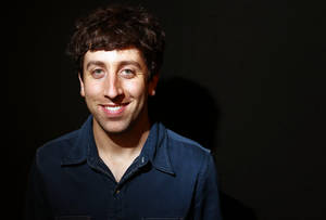 "Photo - In this Tuesday, May 7, 2013 photo, actor Simon Helberg poses for a portrait in Los Angeles. Helberg is a co-star of the CBS television show, ""The Big Bang Theory."" (Photo by Matt Sayles/Invision/AP)"