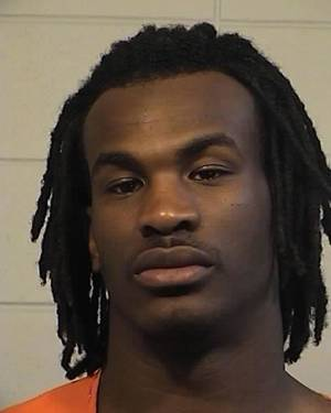 photo - This booking photo released Tuesday, Feb. 12, 2013 by the Tuscaloosa Police Dept. shows University of Alabama football player Eddie Williams. Three University of Alabama football players, including Williams, have been charged with knocking students unconscious and stealing their wallets, while a fourth player has been charged with using a stolen debit card, officials said Tuesday. (AP Photo/Tuscaloosa Police Dept.)