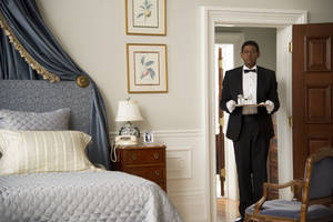 "Photo - FILE - This film image released by The Weinstein Company shows Forest Whitaker as Cecil Gaines in a scene from ""Lee Daniels' The Butler."" (AP Photo/The Weinstein Company, Anne Marie Fox, File)"