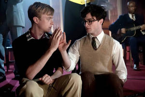 "Photo - Dane DeHaan and Daniel Radcliffe star in ""Kill Your Darlings."" <strong></strong>"