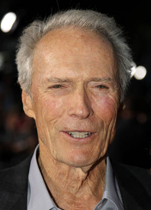 "Photo -   Cast member Clint Eastwood attends the premiere of ""Trouble With the Curve"" at the Westwood Village Theater on Wednesday, Sept. 19, 2012, in Los Angeles. (Photo by Matt Sayles/Invision/AP)"
