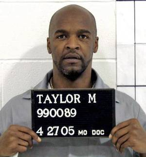 Photo - In this handout photo from the Missouri Correctional offices, Michael Anthony Taylor of Kansas City is shown. The Apothecary Shoppe, of Tulsa, submitted a sealed response to Taylor's lawsuit accusing it of illegally providing Missouri with a made-to-order drug to be used in his lethal injection. The company hasn't publicly acknowledged that it supplies a compounded version of pentobarbital to Missouri for use in lethal injections, as Taylor alleges, and says it can't because of a Missouri law requiring the identities of those on the state's execution team to be kept confidential. (AP Photo/Missouri Correctional Office)