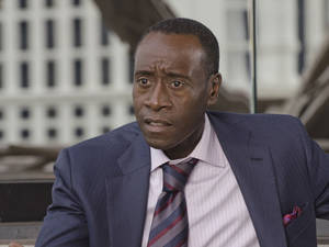 "Photo - Don Cheadle stars as Marty Kaan in ""House of Lies,"" which is back for its second season at 9 p.m. Sunday on Showtime. Showtime photo"