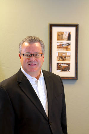 Photo - Greg Womack is president of Womack Investment Advisers <strong>photo by Adam Wilmoth</strong>