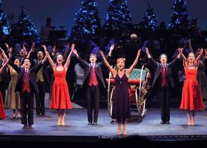 Photo - The cast of the Oklahoma City Philharmonic's Christmas extravaganza   Photo provided <strong>Photo provided</strong>
