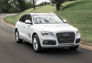 Photo - This undated image made available by Audi shows the 2014 Audi Q5 TDI. On Monday, Oct, 28, 2013, Japanese brands took top spots in a Consumer Reports reliability survey. (AP Photo/Audi)