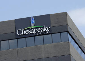 Photo - One of Chesapeake's accounting buildings is along Interstate 44.  Photo by Doug Hoke, The Oklahoman