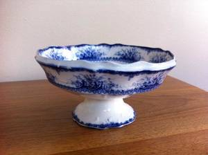 Photo - Flow blue bowl was made by Thomas Hughes & Sons in England. Photo provided. <strong></strong>
