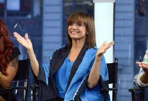 "Photo - This image released by ABC shows actress Valerie Harper on ""Good Morning America,"" Wednesday, Sept. 4, 2013 in New York after it was announced that she will be one of 12 celebrities competing on ""Dancing with the Stars.""  The celebrity dance competition series  premieres on Sept. 16.  (AP Photo/ABC, Ida Mae Astute)"