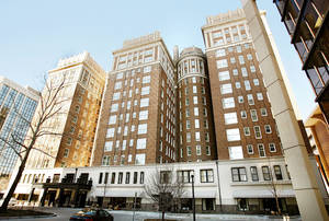 Photo - The Skirvin Hilton Hotel in downtown Oklahoma City is shown in this archive photo from Feb. 6, 2008. photo by Chris Landsberger, the Oklahoman