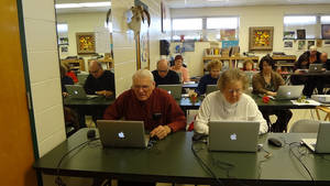 photo - Oklahoma City University offers an Intergenerational Computer Center in Oklahoma City where seniors can go use the computer. PHOTO PROVIDED.