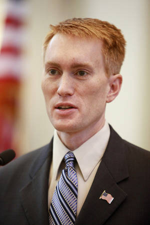 Photo - U.S. Rep.-elect James Lankford. Oklahoman archives