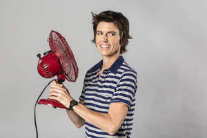 "Photo -   This 2012 photo released by The Daily shows comedian Tig Notaro. After starting her comedy routine with ""Good evening! Hello. I have cancer. How are you?"", Notaro launched into a 30-minute performance that immediately became legendary in comedy circles and that's now available as an unlikely live album via a $5 digital release by comedian Louis C.K. In just a week, it's sold more than 60,000 copies. (AP Photo/Kate Lacey for The Daily)"