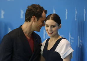 Photo - Actors Jude Law and Rooney Mara pose for photographers at the photo call for the film Side Effects at the 63rd edition of the Berlinale, International Film Festival in Berlin, Tuesday, Feb. 12, 2013. (AP Photo/Gero Breloer)