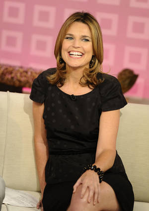 "Photo -   CORRECTS TO CURRY WILL ANNOUNCE HER DEPARTURE, NOT HAS ANNOUNCED HER DEPARTURE -FILE - In a Wednesday, Aug. 10, 2011 file photo provided by NBC, ""Today"" show co-host Savannah Guthrie appears on the set during a broadcast, in New York. Guthrie is expected to replace Ann Curry as ""Today"" show co-host. Curry is expected to officially make her exit from NBC's ""Today"" show after one year as co-host. She told USA Today she would announce her departure Thursday, June 28, 2012. (AP Photo/NBC, Peter Kramer, File)"
