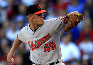 Photo - Baltimore's Dylan Bundy, a former Owasso standout, is on the fast track to the Orioles' rotation. AP Photo