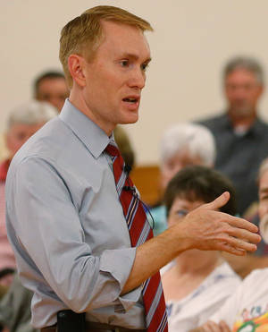 Photo - U.S. Rep. James Lankford, R-Oklahoma City <strong> - AP File Photo</strong>