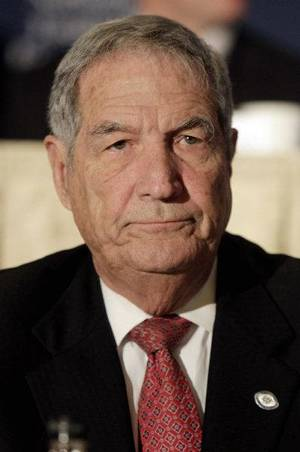 Photo - Former Texas A&M player, coach and regent Gene Stallings. AP PHOTO <strong>Richard Drew</strong>