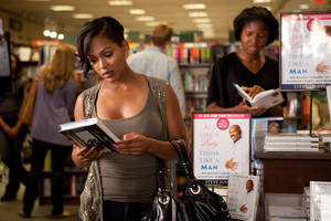 "Photo -   In this film image released by Sony Pictures - Screen Gems, Meagan Good is shown in a scene from ""Think Like a Man."" (AP Photo/Sony Pictures-Screen Gems, Alan Markfield)"