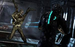 "Photo - This video game image released by Electronic Arts shows a scene from ""Dead Space 3."" (AP Photo/Electronic Arts)"
