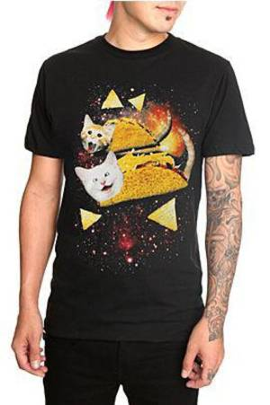Photo - Cats with Tacos T-shirt from Hot Topic Photo provided <strong></strong>