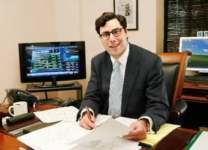 photo - Nick  Harroz, CEO of Mark I Asset Management,Thursday, Dec. 3, 2009. Photo by Jim Beckel