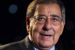 Photo - Secretary of Defense Leon Panetta speaks about suicide prevention at the annual Suicide Prevention Conference held by the Dept. of Defense and Veterans Administration, in Washington, on Friday, June 22, 2012. (AP Photo/Jacquelyn Martin)
