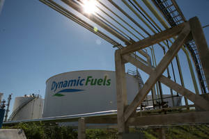 Photo - Dynamic Fuels LLC plant in Geismar, La., is a joint venture with between Tulsa-based Syntroleum Corp. and Tyson Foods to convert animal fats into biodiesel. Renewable Energy Group Inc. has struck a deal to purchase the facility.   PHOTO PROVIDED <strong> -  PHOTO PROVIDED </strong>