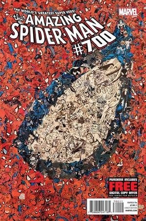 "Photo - ""Amazing Spider-Man"" #700. Marvel Comics. <strong></strong>"